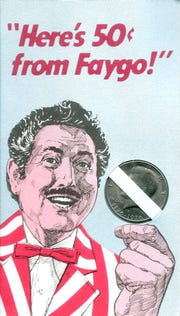 """Actor Harold Peary's """"The Great Gildersleeve"""" starred in Faygo commercials in the 1960s and 70s."""