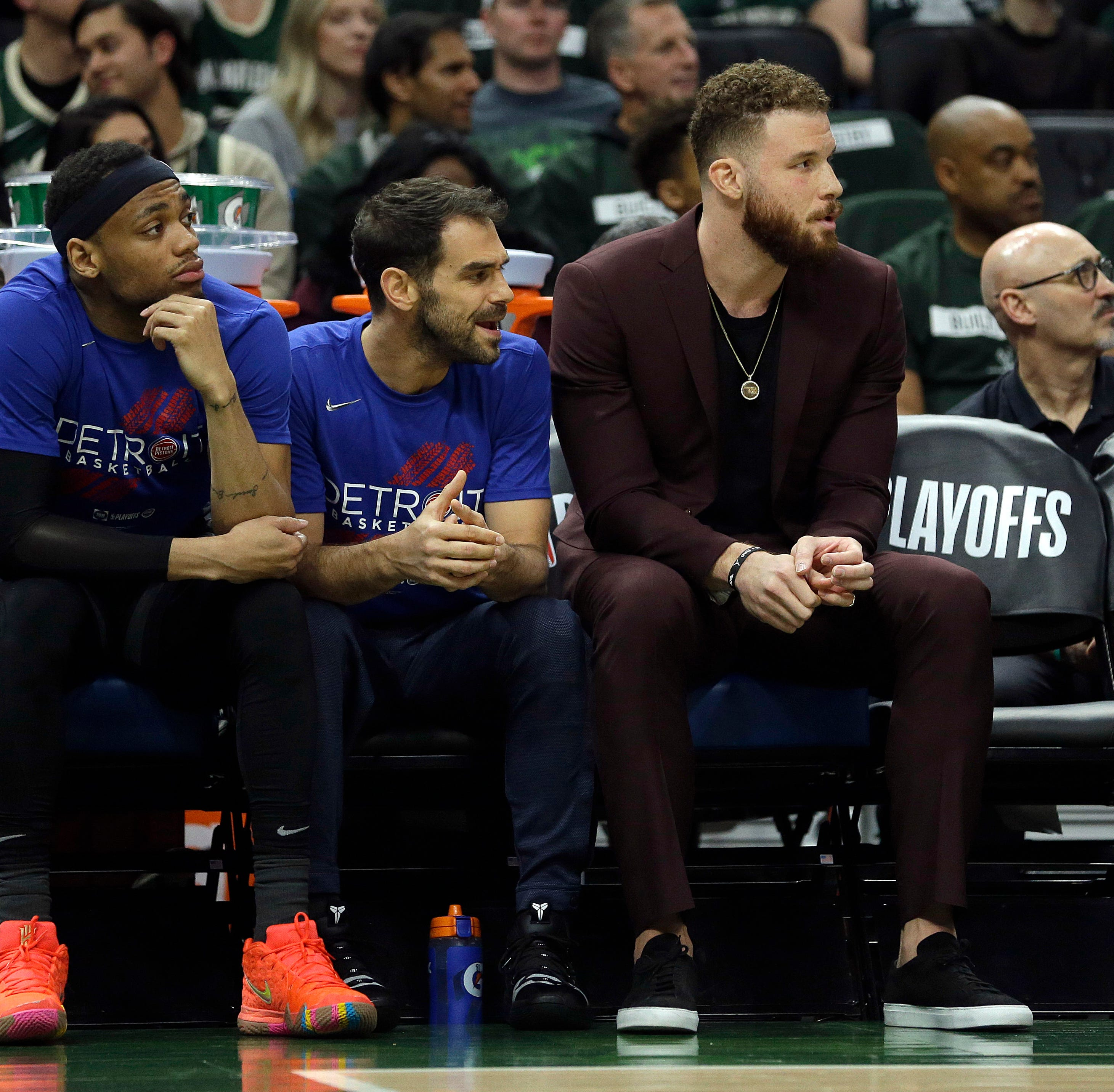 'Very frustrating': Blake Griffin misses opener, return still unclear