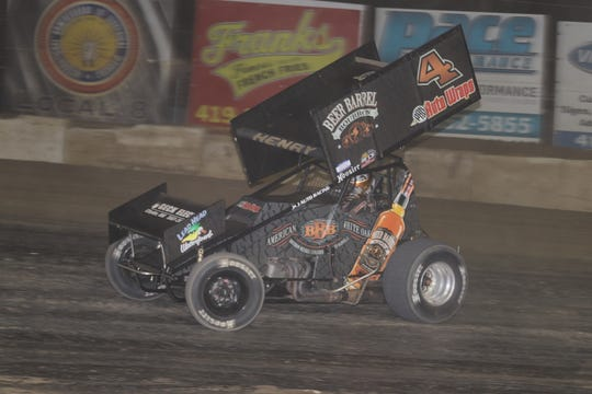 Cap Henry wins on opening night at Fremont Speedway.