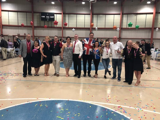 Dancers and their partners participated in the annual  Sandusky County Stars Dancing for CASA.