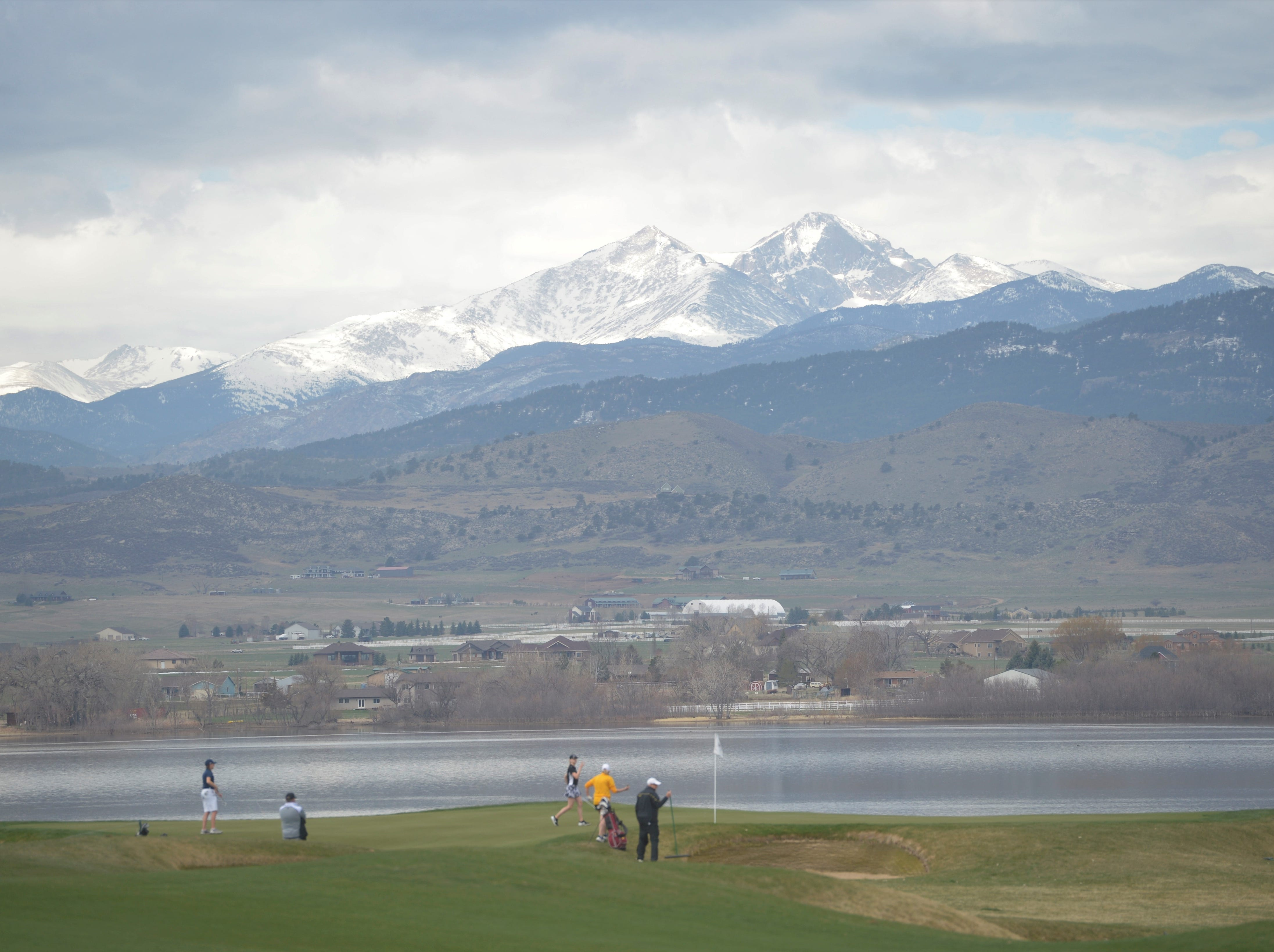 Windsor won the Tri-Valley League match at TPC Colorado in Berthoud on Monday. The new course is the first Tournament Players Club course in the state. It's west of Berthoud with the Twin Peaks as a backdrop.