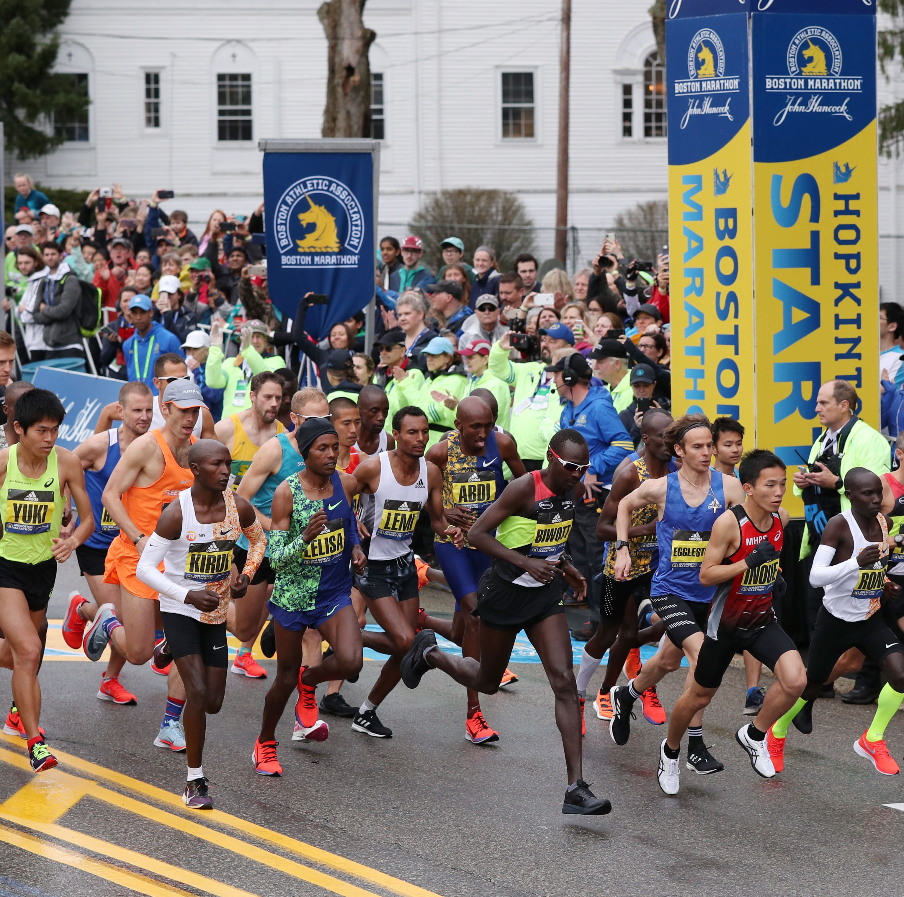 Hometown Life area runners compete in Boston Marathon