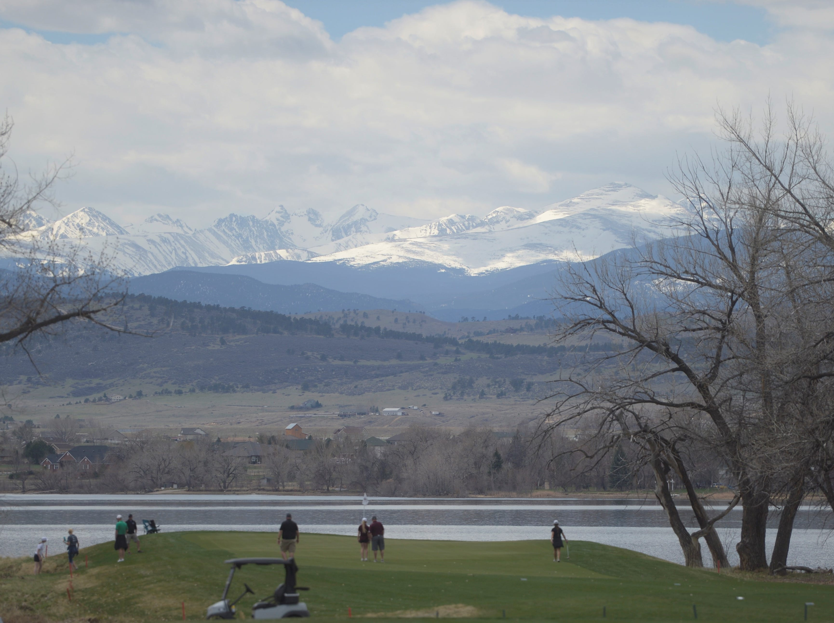 Windsor won the Tri-Valley League match at TPC Colorado in Berthoud on Monday. The new course is the first Tournament Players Club course in the state. It's west of Berthoud with the Twin Peaks as a backdrop. The picturesque hole No. 8 is shown in this photo.
