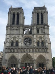Higor Valle, sommelier at The Continental in Naples, was in Paris and visited the Notre Dame cathedral a few hours prior to the fire Monday.