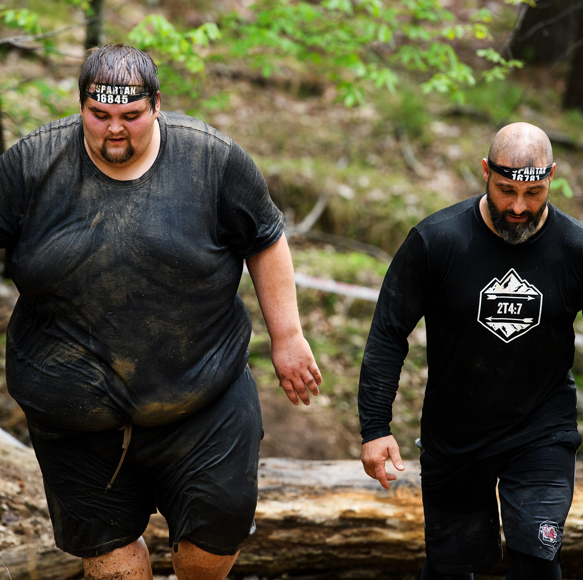 From football player to 500 lbs: How a SC man is changing his life one Spartan Race at a time