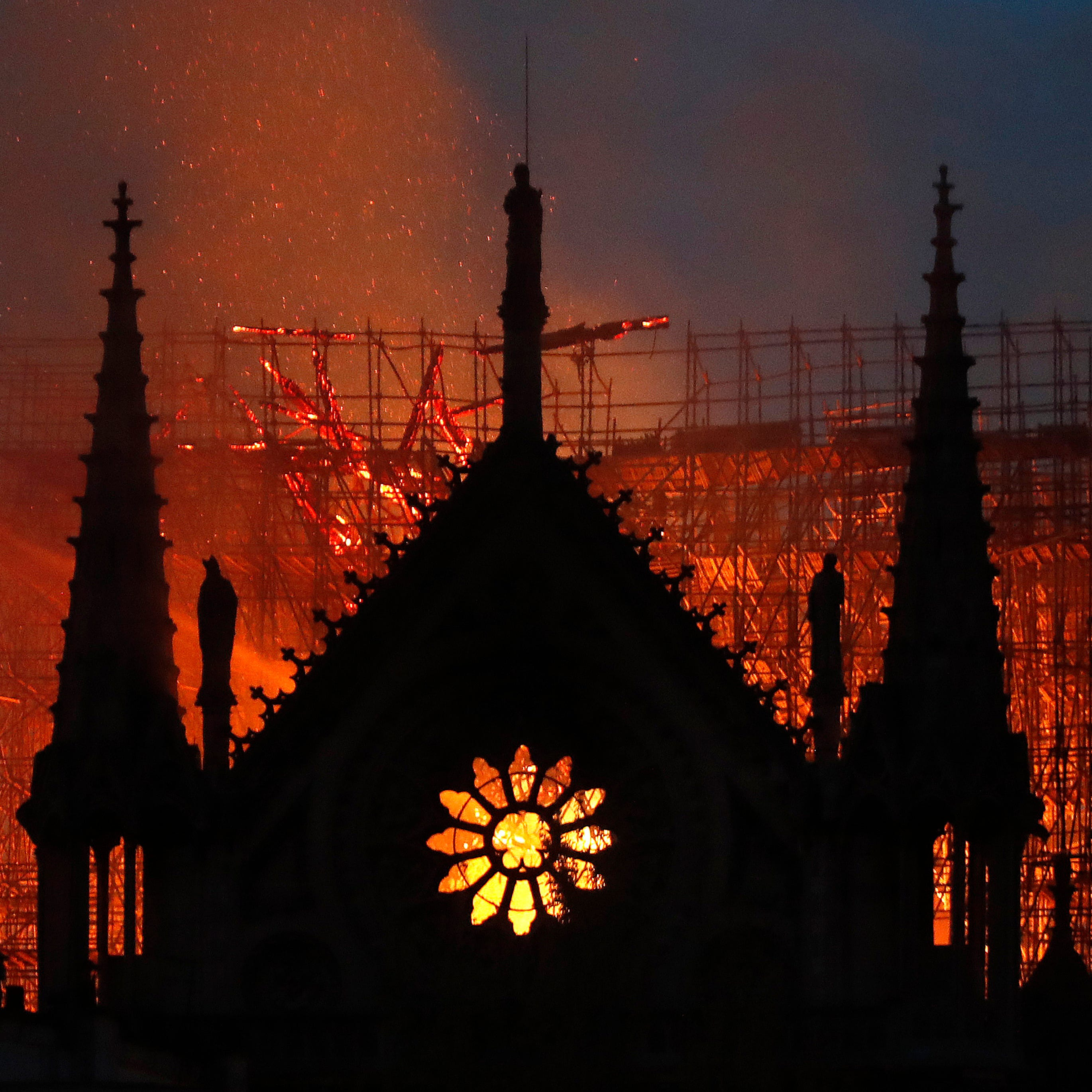 Notre Dame Cathedral: Fire officials unsure if blaze can be contained at iconic Paris landmark