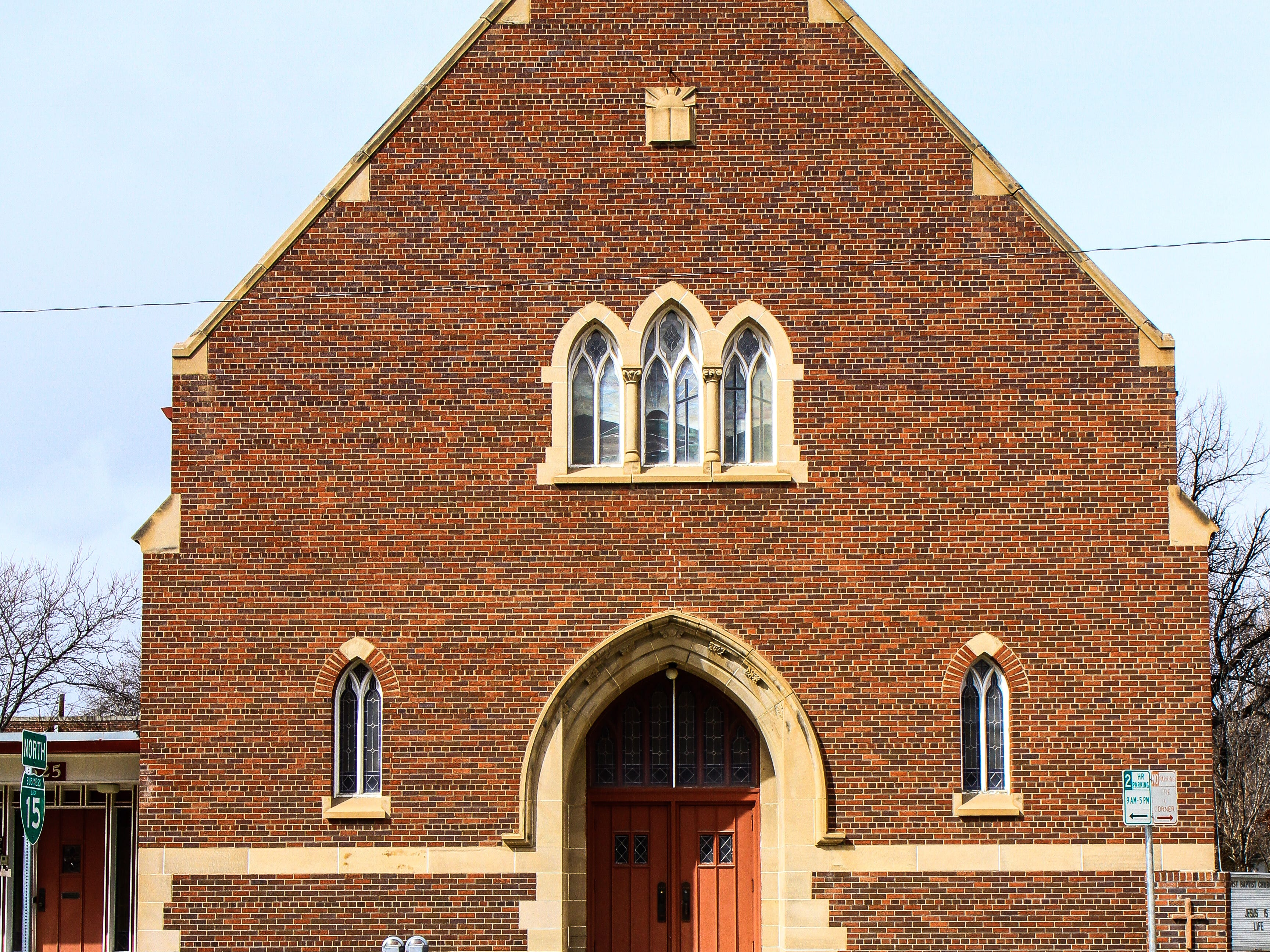 First Baptist Church, downtown Great Falls