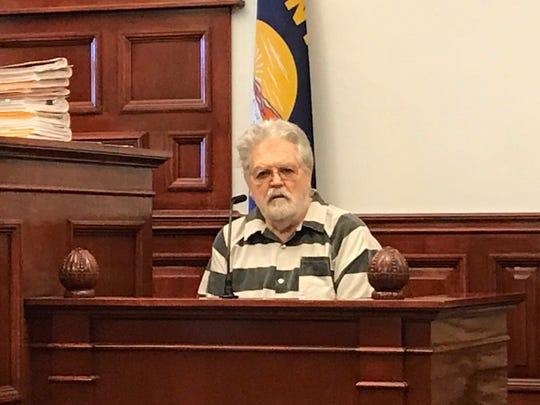 Eugene Edwin Sherbondy, 75, was denied a request for medical release Monday before Judge Elizabeth Best.