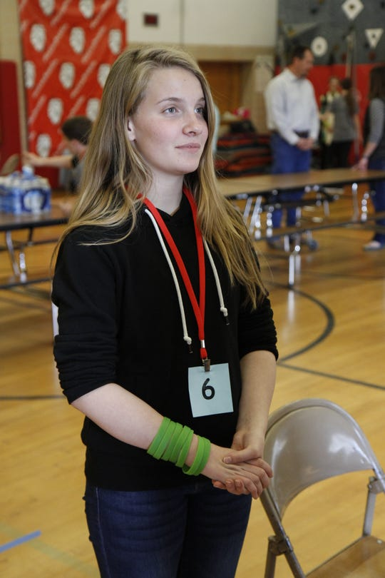 Third place winner Iris Frates-Stone said she is proud of everyone who participated and herself.