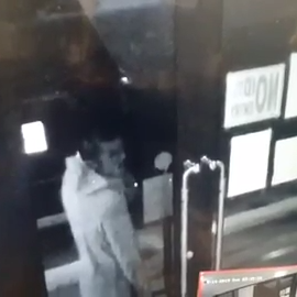Vape Escape asks the public for help in identifying person who tried to break in