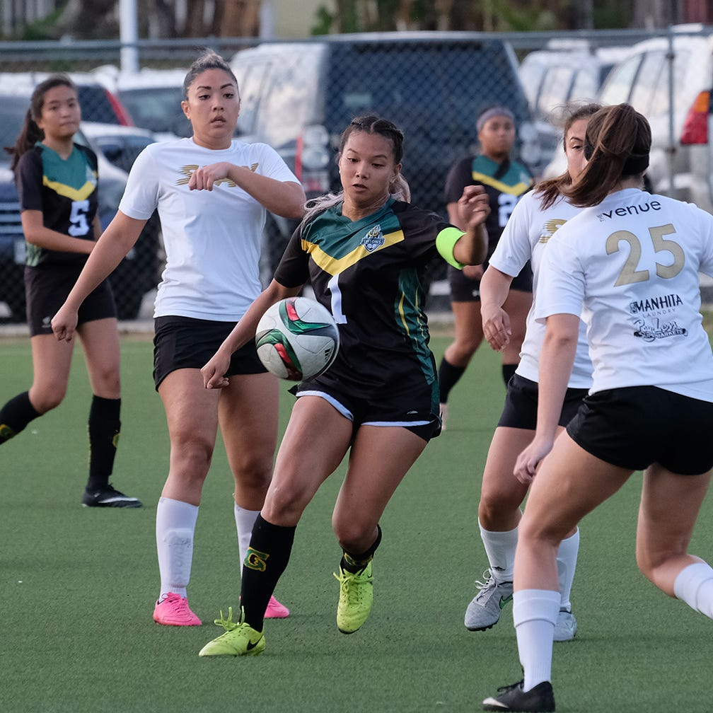Venue Slay defeats UOG to take women's soccer championship