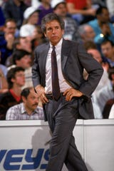 FILE – John MacLeod spent 18 seasons as an NBA head coach with the Phoenix Suns, Dallas Mavericks and New York Knicks.