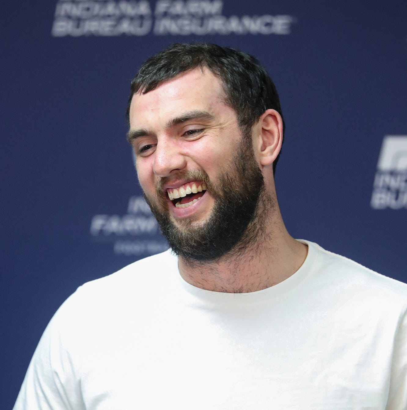 Finally able to rest and refresh, Andrew Luck is ready to get back into the zone
