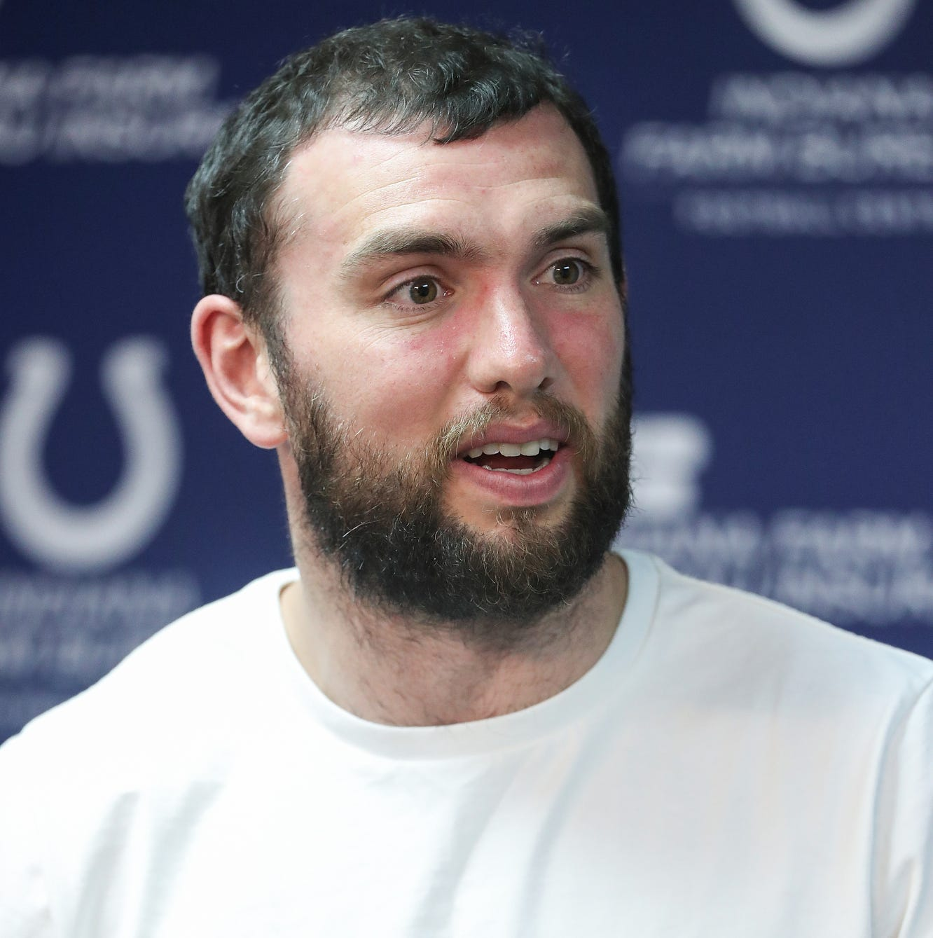 Colts veterans return to complex as draft prep continues