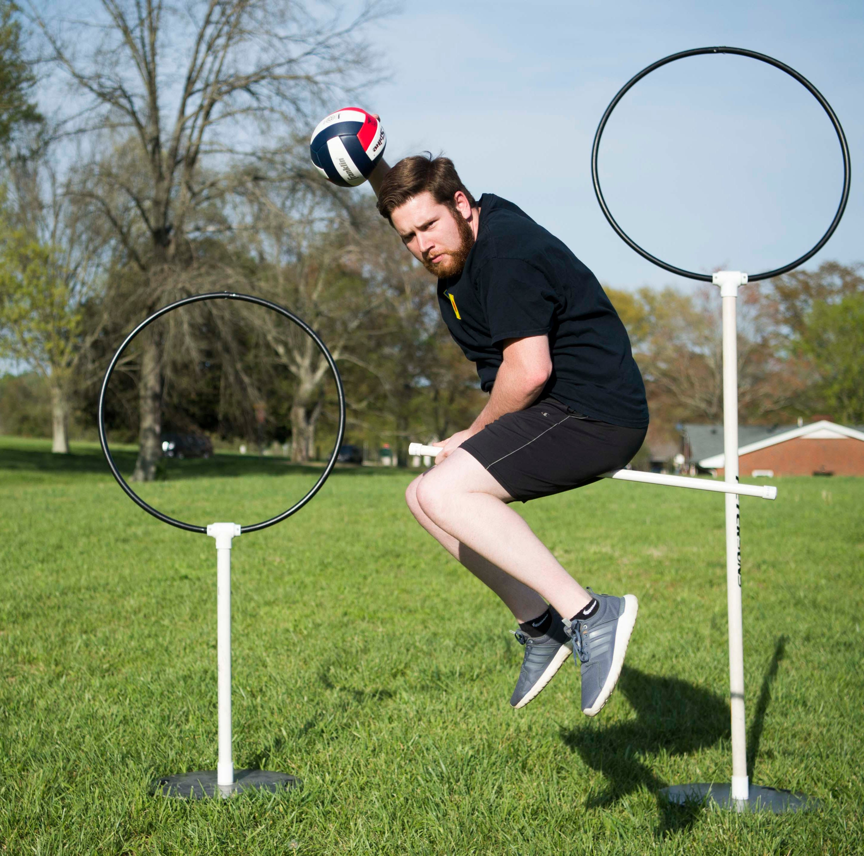 Quidditch is the sport you 'only dreamed about' — but the dream is true in Knoxville