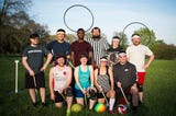 Get to know some quidditch basics from the Knoxville Summer Quidditch League before their practice Thursday, April 11, 2019.