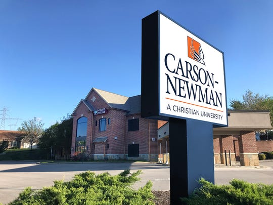 Carson-Newman University has purchased the former Capital Bank building at 9261 Middlebrook Pike in Cedar Bluff to transform it to create new classroom space.