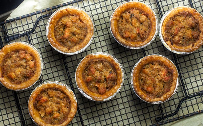 Flaky and filled with spicy crawfish, these Mini Crawfish Pies are a taste of Cajun culture.
