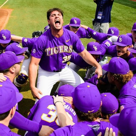 LSU handles Auburn with ease again, 5-1, to take 2-0 series lead and clinch 5th in SEC