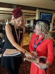Courier Journal freelancer Dana McMahan got a personal consultation from The Mansion's  handicapper during the 2018 Breeders' Cup at Churchill Downs.