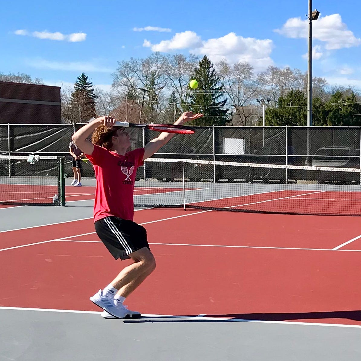 Boys Best of the Week: Marion Harding wins MOAC Tennis Tournament
