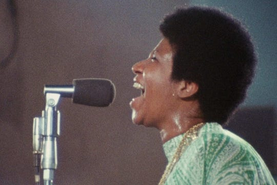 "The Aretha Franklin concert documentary ""Amazing Grace"" screens Monday at the Stax Museum."