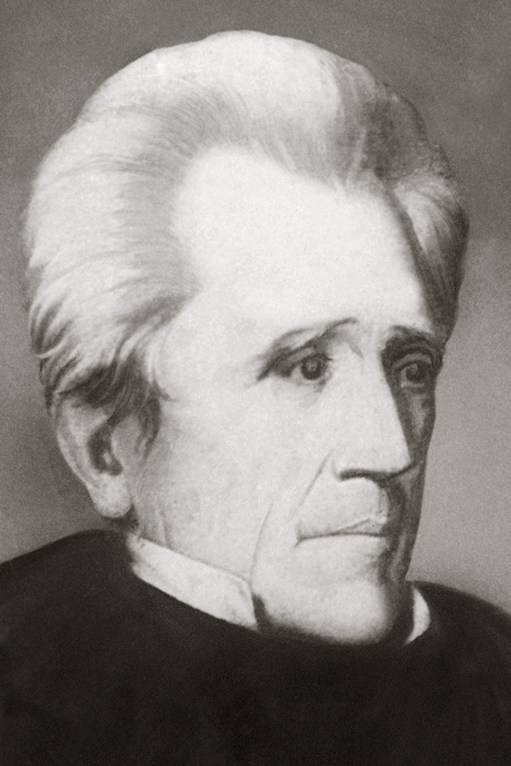 Future president Andrew Jackson (pictured), planter and judge John Overton and Revolutionary War officer James Winchester founded Memphis.