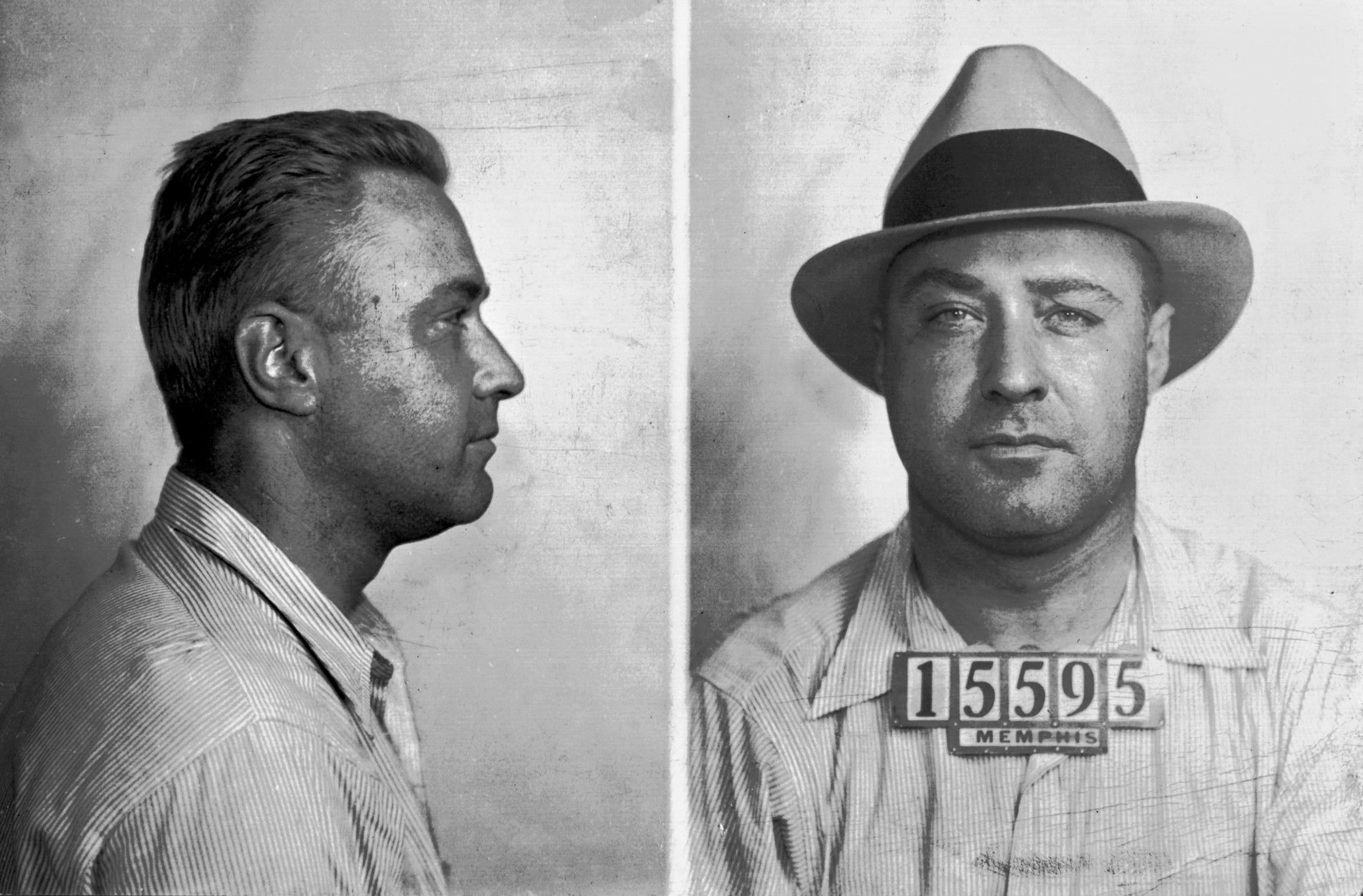 """I'll be out of this jail before long - they've got me, but keeping me is another thing"", George ""Machine Gun"" Kelly told a Memphis Press-Scimitar reporter when he was cornered and captured in Memphis. Less than a week later on Sunday, October 1, 1933, ""Machine Gun"" did get out but only to be transported to the Memphis Airport for transport to Oklahoma City for his trial in the kidnapping of Charles F. Urschel, a wealthy oil executive of Oklahoma City."