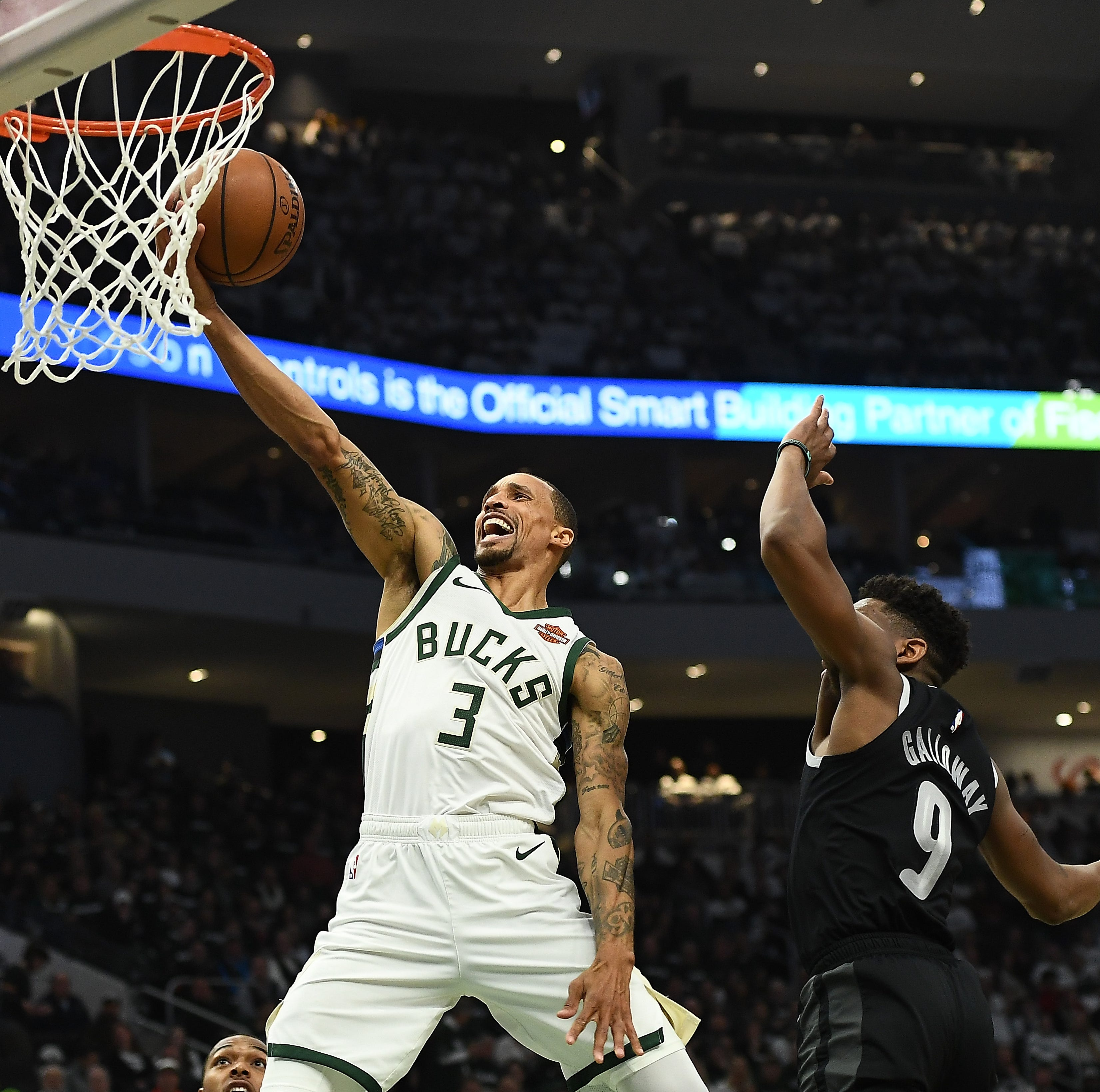 Nickel: In George Hill, the Bucks got an aggressive guard with loads of playoff experience