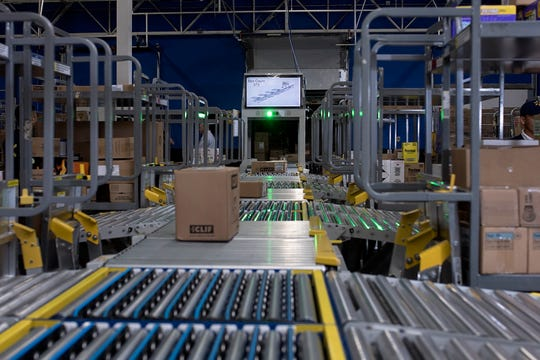 A backroom innovation dubbed the FAST Unloader will be introduced at Milwaukee-area Walmart stores in 2019. The system automatically scans and sorts items that come off trucks based on priority and department, allowing associates to spend less time unloading in the backroom and more time on the sales floor with customers, according to the company
