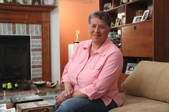 Joanne Williams at home. She talked about her experience having shingles and the shingles vaccine.