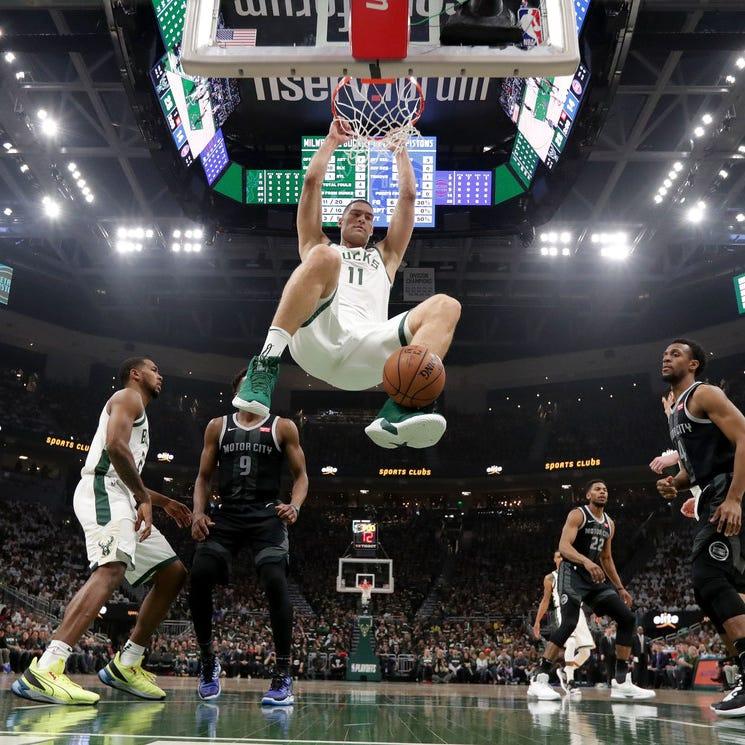 Bucks 121, Pistons 86: As easy as it gets in Game 1