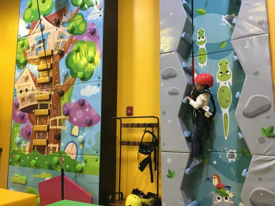 Newtopia Fun Park in east Montgomery recently added two climbing walls, among other upgrades.
