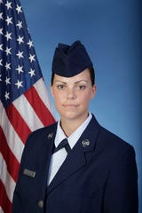 U.S. Air ForceReserve Airman Cailey Hathaway