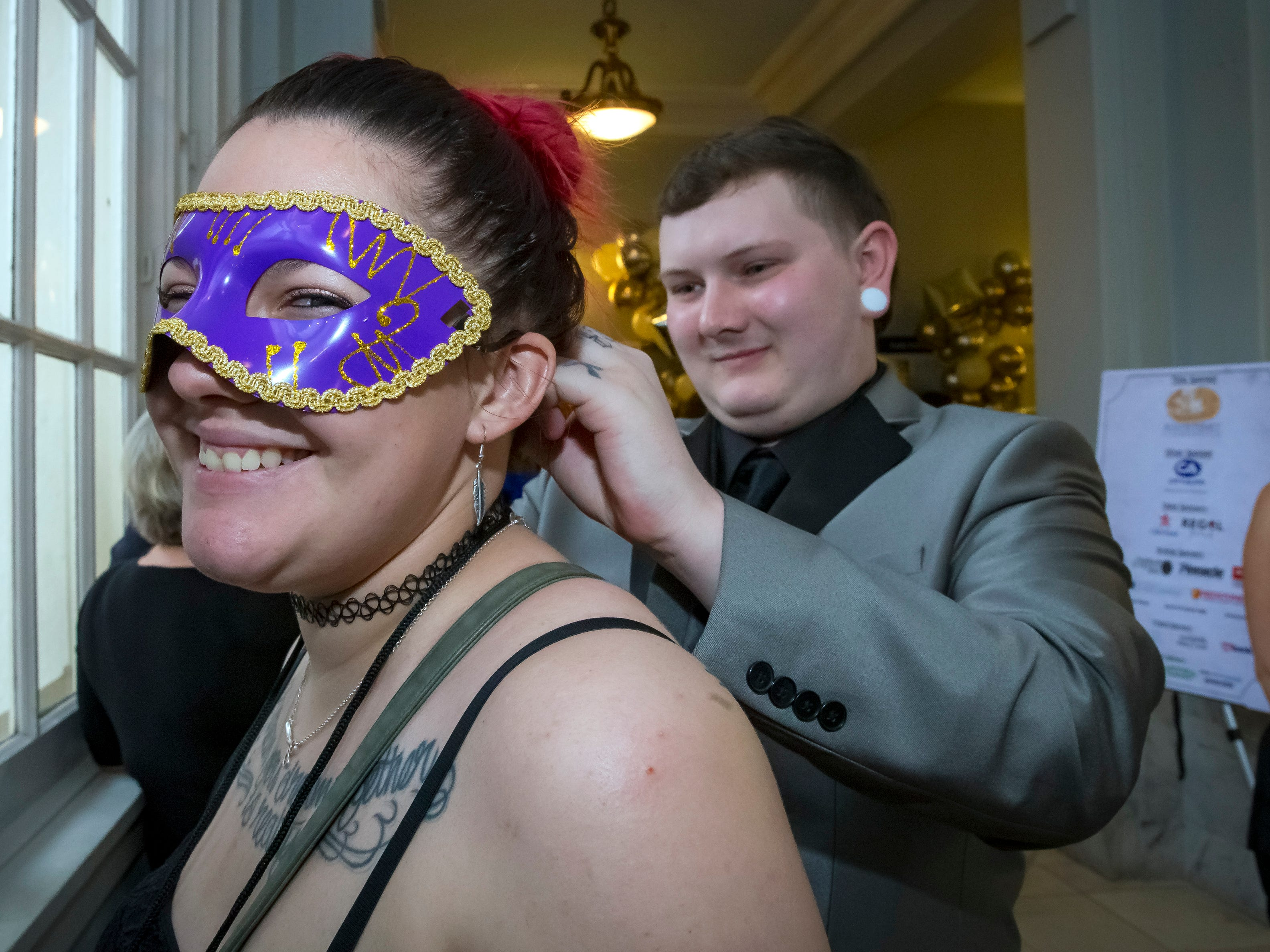 Center for the Arts held its annual Masquerade Bash on Saturday, April 13, 2019.