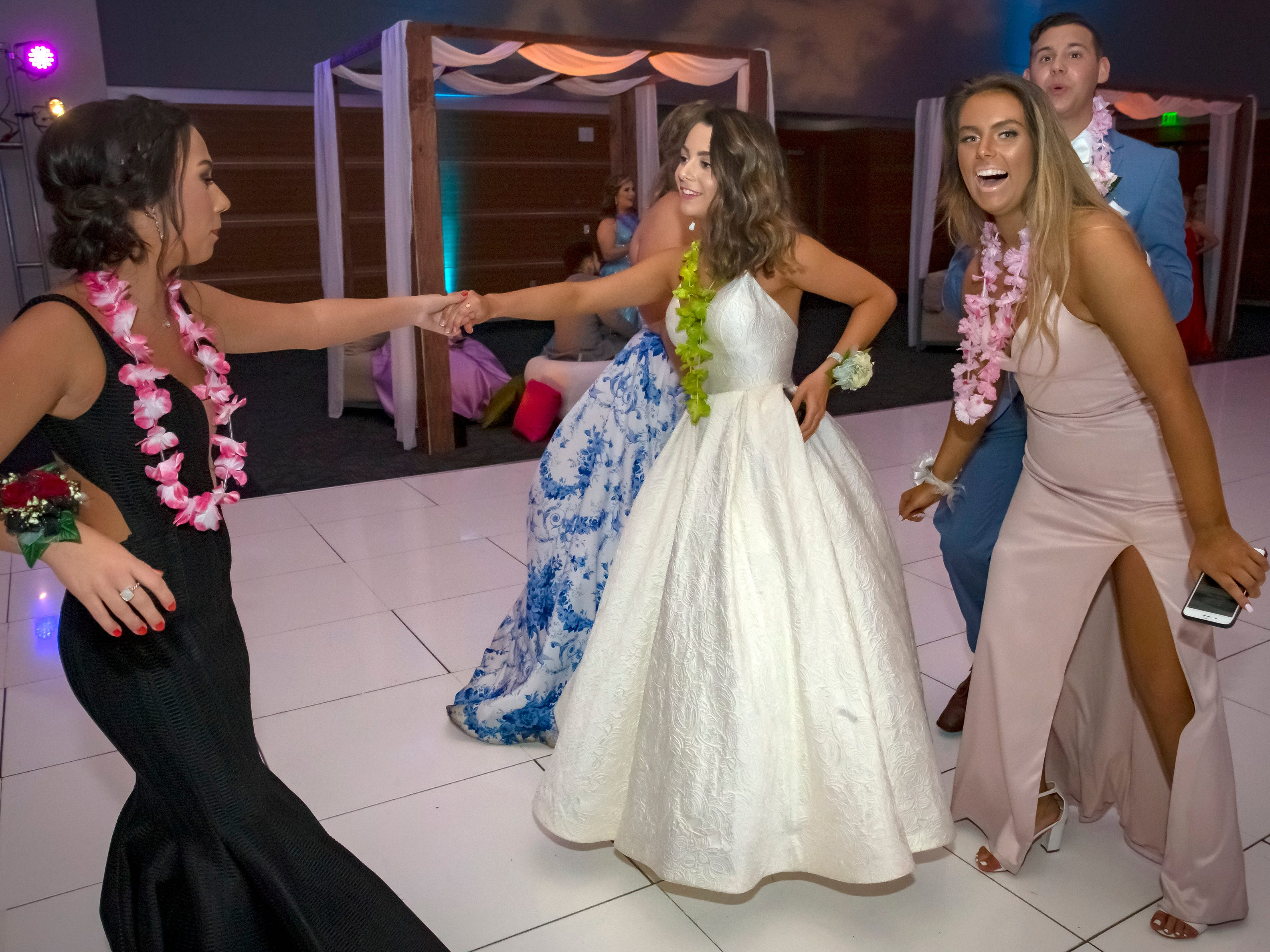 Siegel High School's 2019 prom took on a tropical twist. Prom was held Saturday, April 13 at MTSU's Student Union Building.