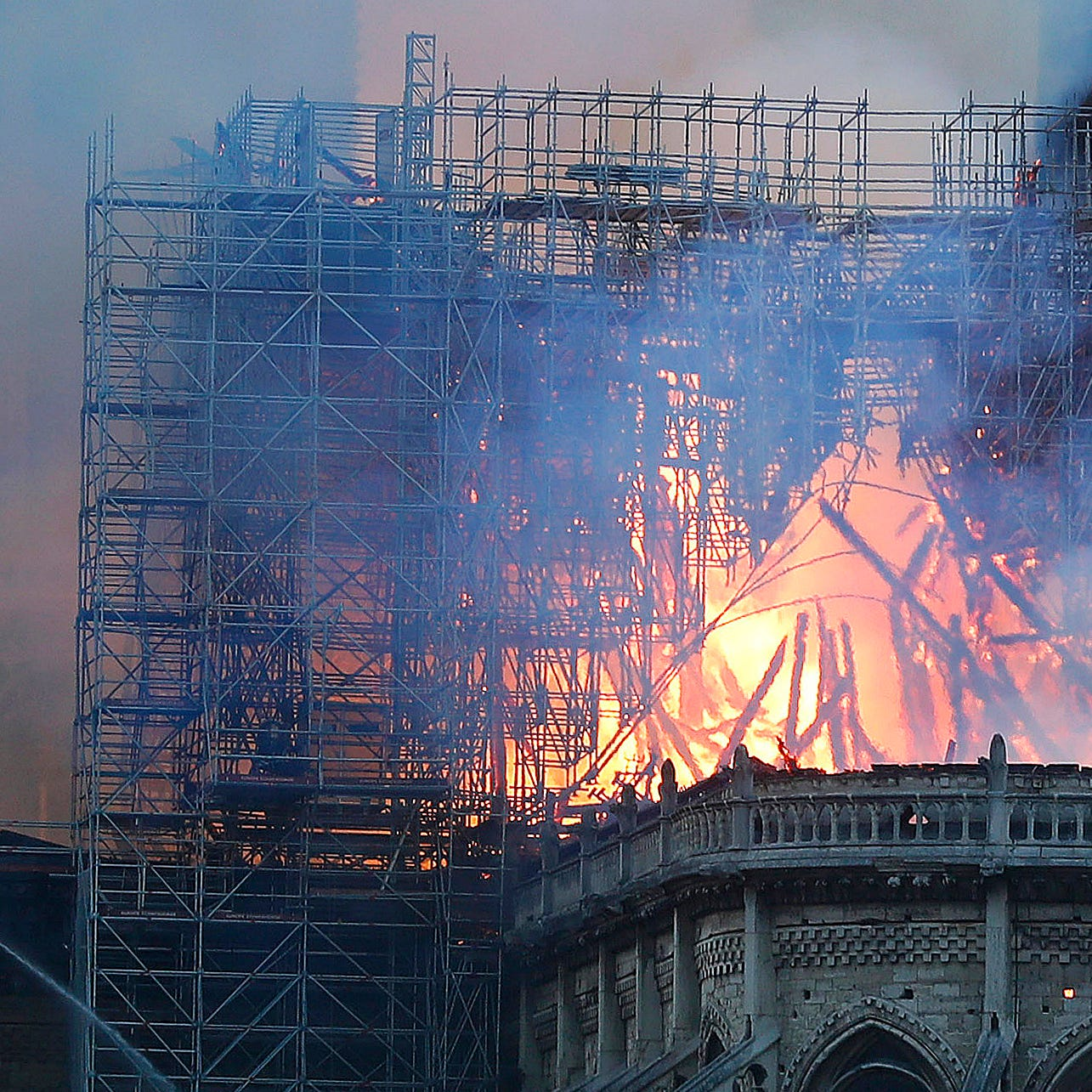 On Paris field trip, Norwich students safe amid Notre Dame cathedral fire