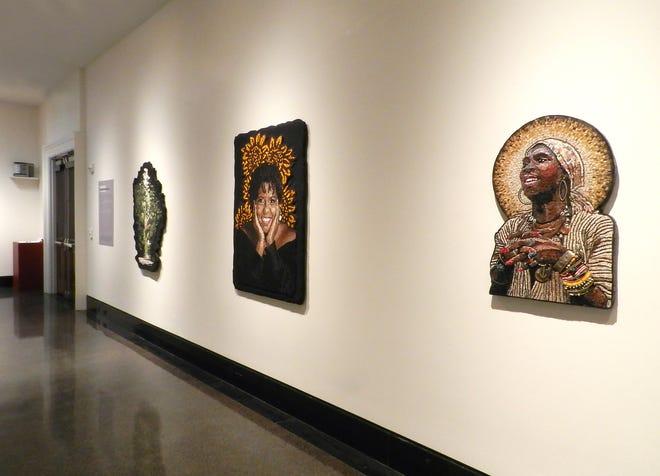 """Installation view of """"Embodied,"""" at Vanderbilt Fine Arts Gallery."""
