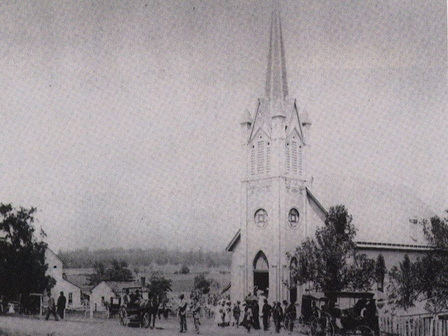 Nolensville First United Methodist Church was founded in 1837 as Mt. Olivet Methodist Episcopal Church.