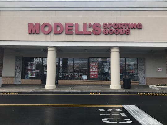 The Modell's Sporting Goods store in Paramus, N.J., on Mon., April 15, 2019.