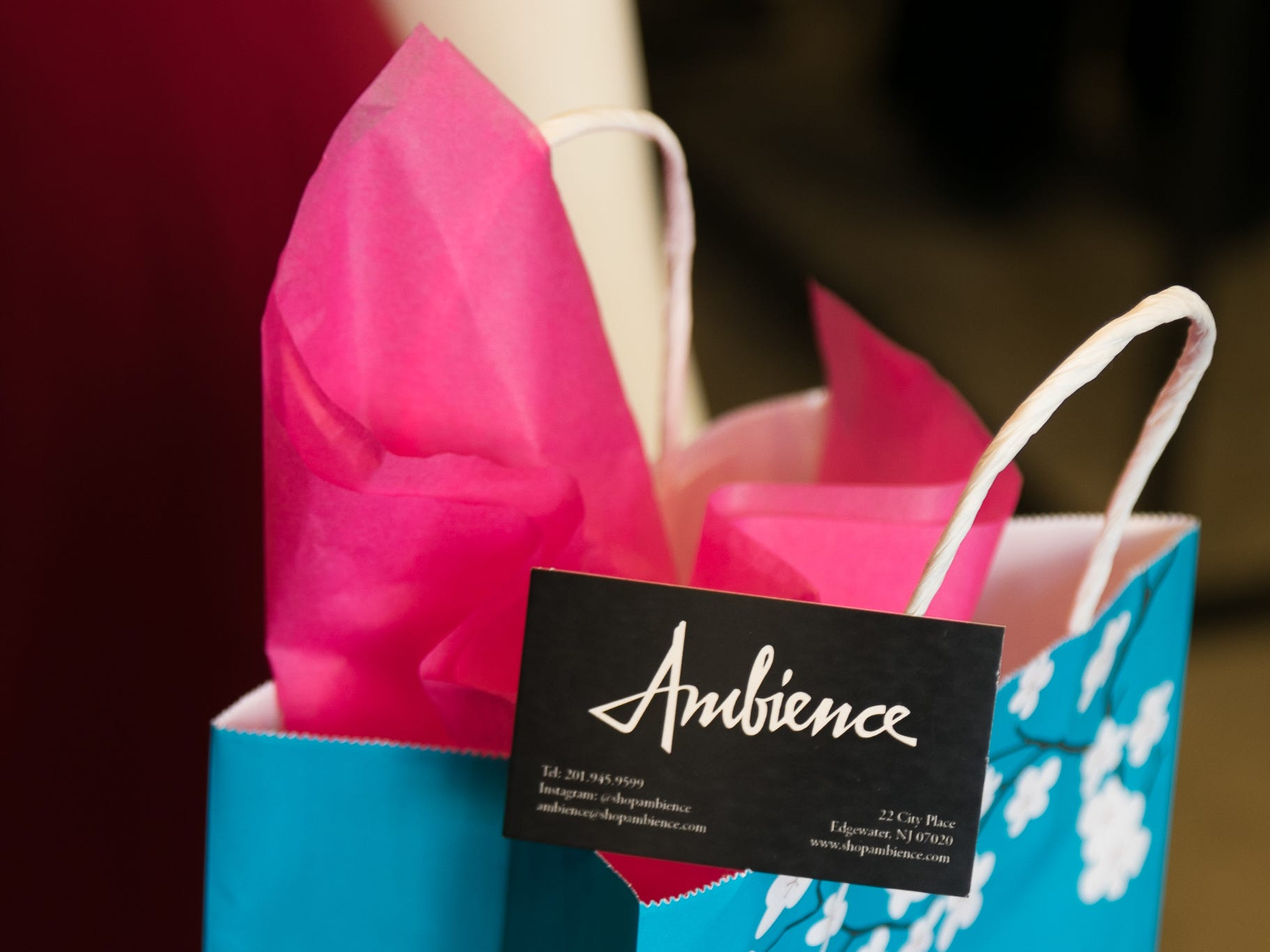 Instagram fashion stylists sisters Sophie and Charlotte Bickley visited Ambience Boutique in Edgewater. 04/13/2019