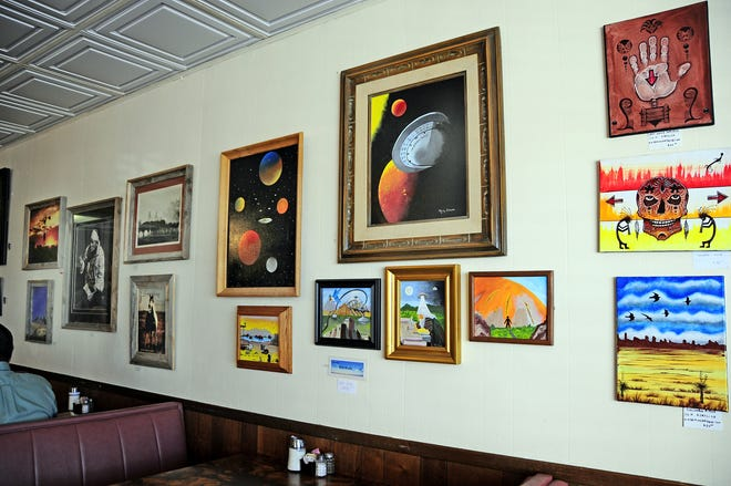 Outer space paintings, old West photos, watercolors of flowers, acrylics and abstracts in different mediums are all available for the public to view and purchase at the Grand Motor Inn Art Show. The sheer variety is exciting and worth your time to justpop inand look.This show will be at the Inn until May 30.After May 30, the local Deming Photo Club will display its incredible talents.