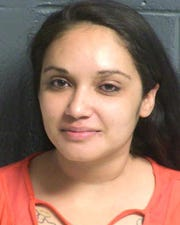 Las Cruces mother charged in crash, suspected of driving while intoxicated.