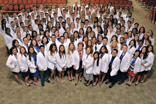 The Burrell College of Osteopathic Medicine class of 2020