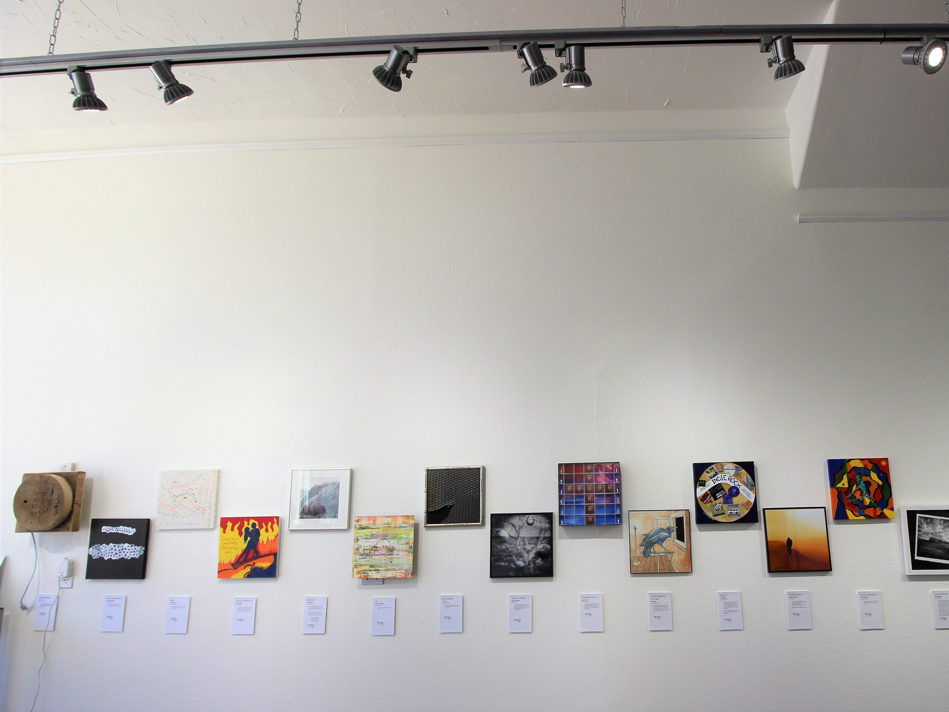 World Art Day exhibit at Limina Gallery displays creations  celebrating music around the world.