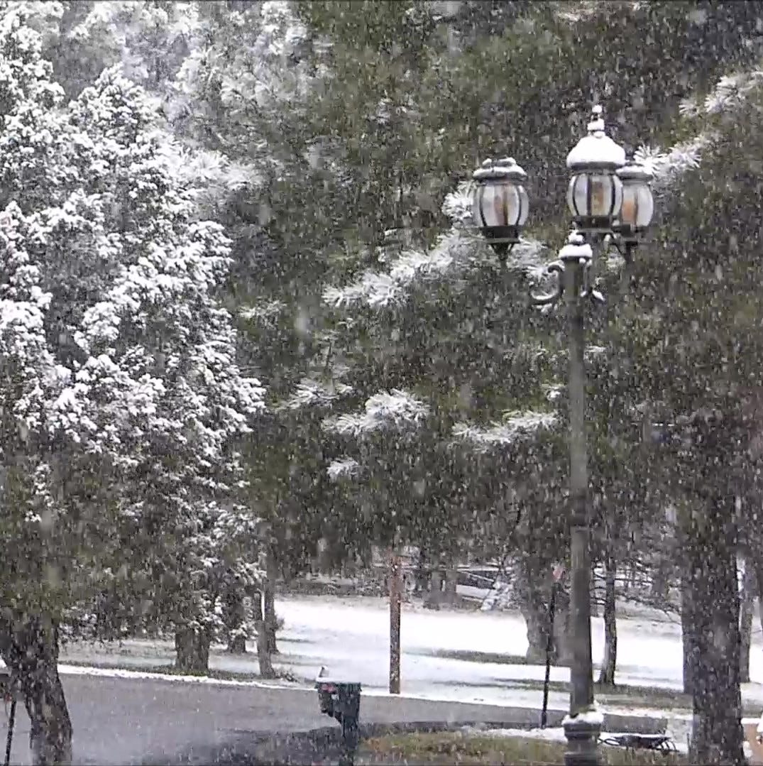 Snow helps delay Ruidoso fire season