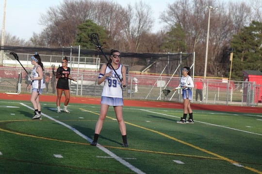 Salem's Isabella Murphy Morrow scored 15 goals last week.