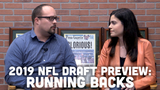 Ryan Wood and Olivia Reiner discuss how high of a priority drafting a running back is for the Packers and potential options.