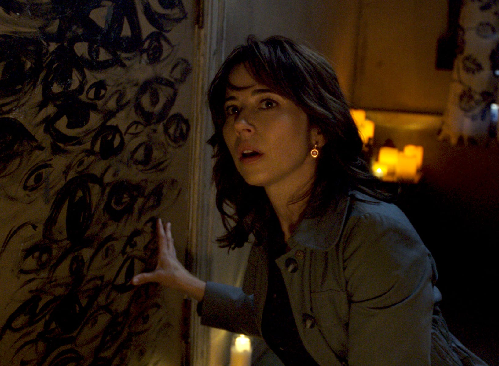 "Anna (Linda Cardellini) investigates in ""The Curse of La Llorona."""