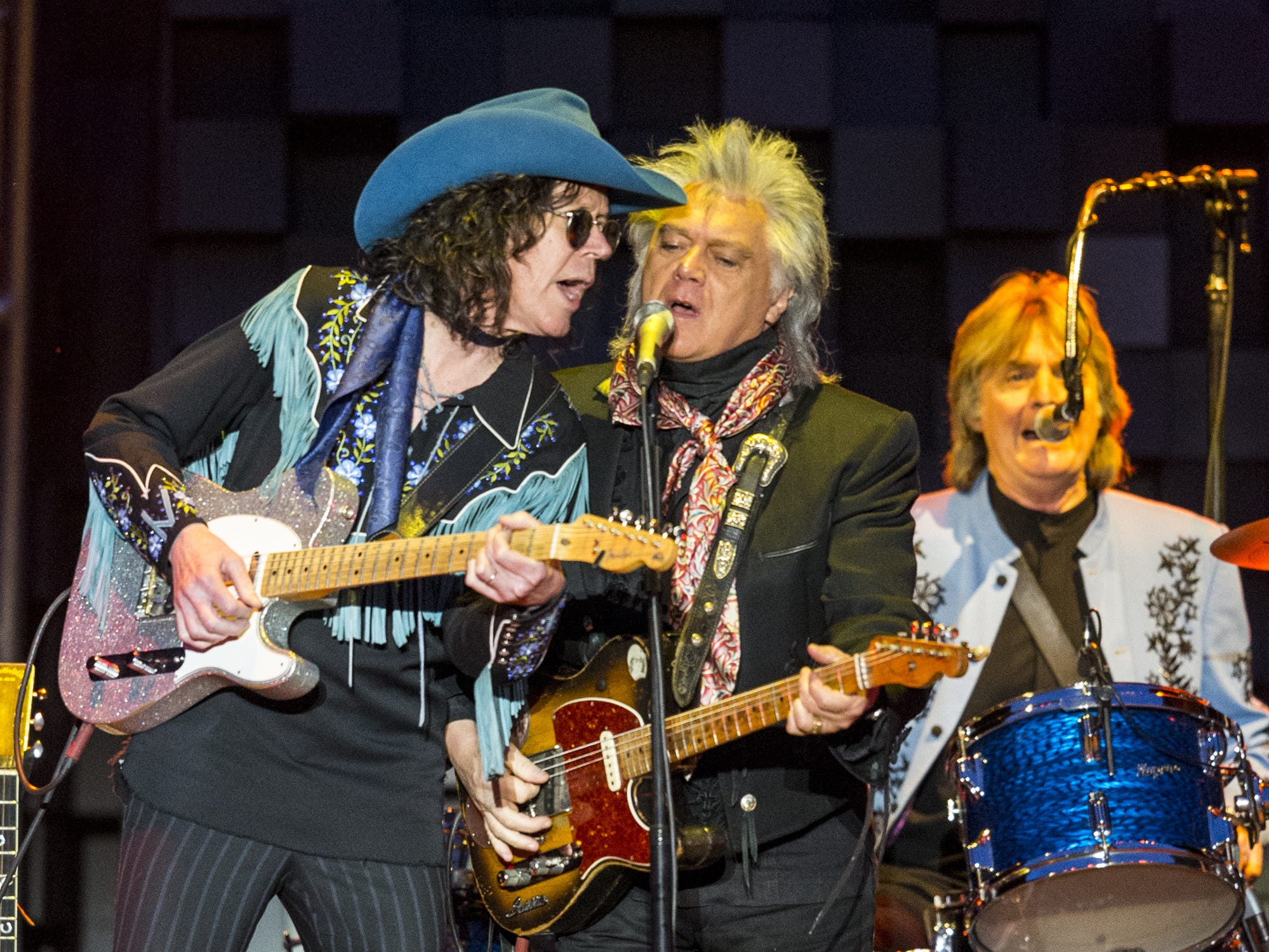 Marty Stuart performs on April 14, 2019, during Day 4 of Country Thunder Arizona in Florence, Arizona.